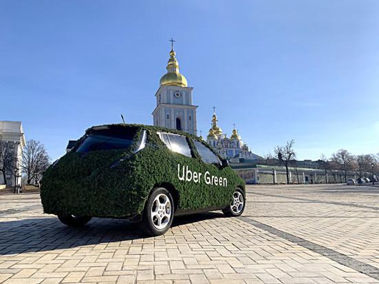 Uber запускает в Киеве полностью электрический сервис - Green