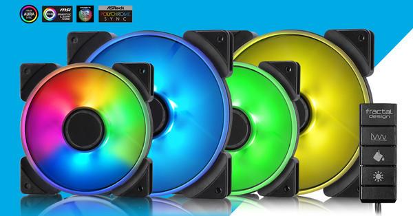 Fractal Design представляет серию вентиляторов Prisma