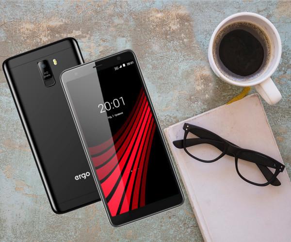 ERGO представил недорогой смартфон V600 VEGA DUAL SIM