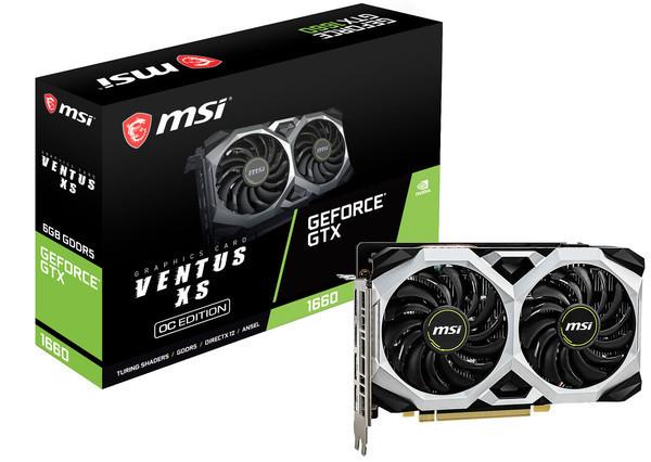 MSI представляет видеокарты серии GeForce GTX 1660