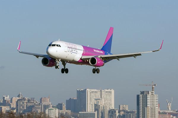 Wizz Air открывает новый рейс из Киева в Лейпциг
