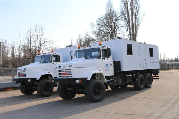 КрАЗ изготовил спецтехнику по заказу ООН для Донбасса