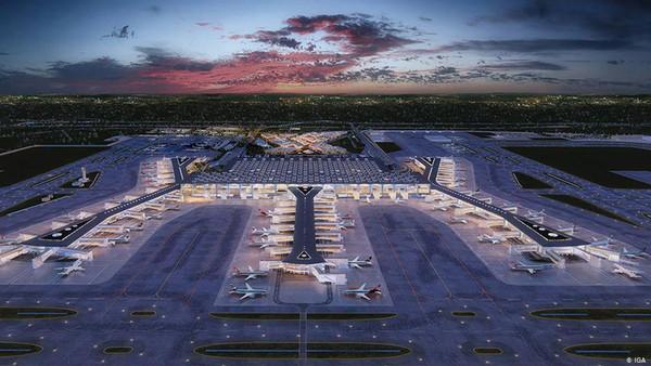 Самый большой в мире аэропорт начал работать