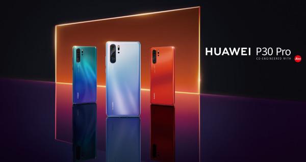 Смартфоны серии Huawei P30 с инновационной камерой в Украине уже с 5 апреля