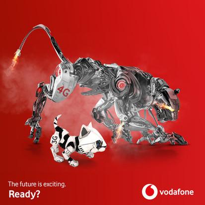 4G покрытие Vodafone в 1 квартале 2019 года возросло до 57%