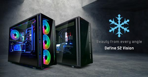 Fractal Design представляет корпус Define S2 Vision и новые вентиляторы Dynamic