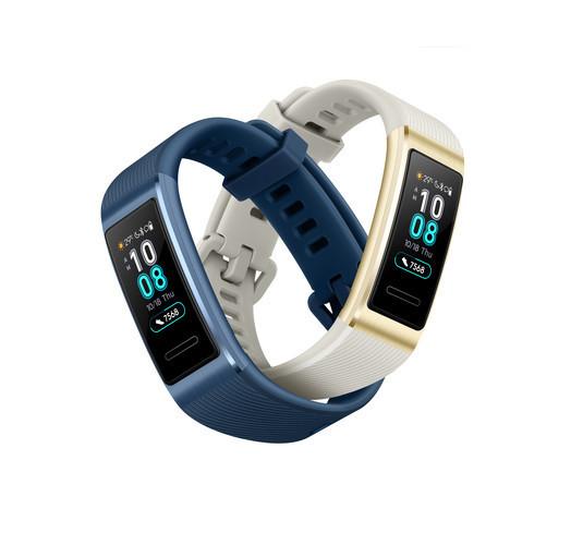 Huawei начинает продажи фитнес-браслета Band 3 Pro в Украине