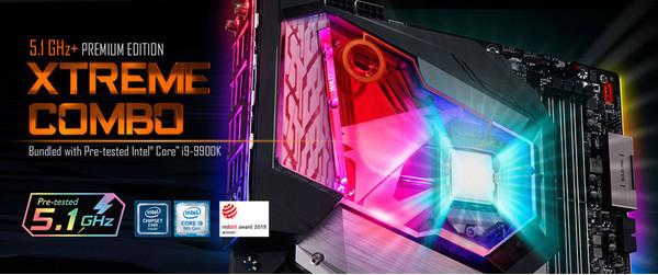 GIGABYTE представляет комплект Z390 AORUS XTREME WATERFORCE 5G Premium Edition