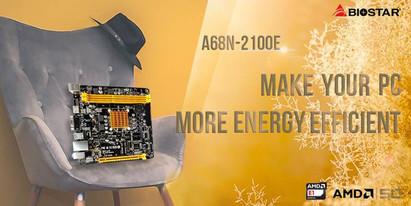 BIOSTAR представила энергоэффективную компактную плату A68N-2100E
