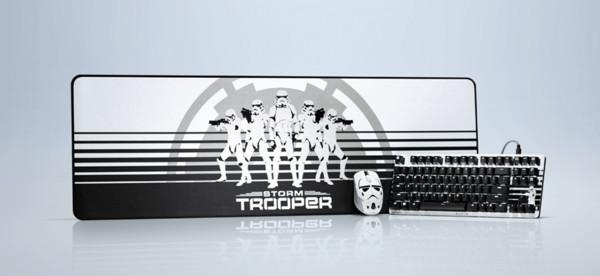 Razer представила мышку, коврик и механическую клавиатуру в стиле Star Wars