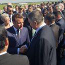 Макрон и Аваков на авиасалоне в Ле-Бурже