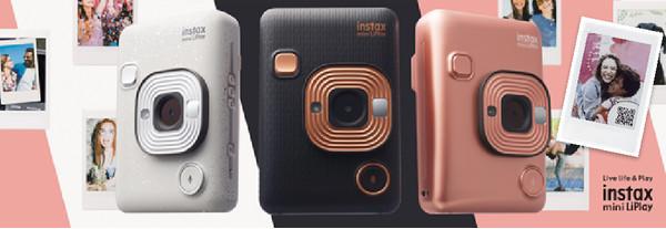 FUJIFILM Instax mini LiPlay - новые камеры моментальной печати