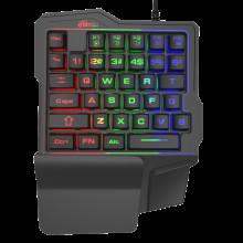 Новая игровая клавиатура с необычным дизайном Ritmix RKB-209