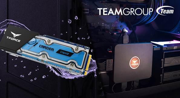 TEAMGROUP выпустила твердотельный накопитель T-FORCE CARDEA Liquid и контроллер