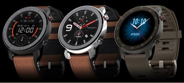 ТМ Huami представила крутые смарт-часы Amazfit GTR: NFC и AMOLED-экран