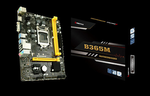 BIOSTAR показала материнскую плату B365MHC Micro ATX