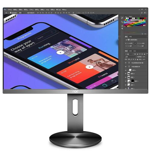 Новый эргономичный и стильный 4K-монитор для профессионалов: AOC U2790PQU