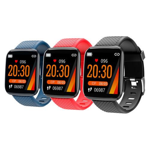 SMARTERRA FitMaster AURA - умные часы с большим ярким цветным экраном