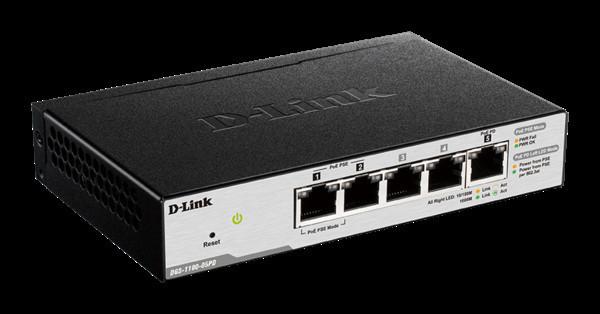 D-Link объявляет о начале продаж гигабитного настраиваемого коммутатора DGS-1100