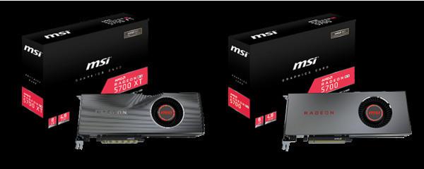MSI представляет видеокарты серии RADEON RX 5700