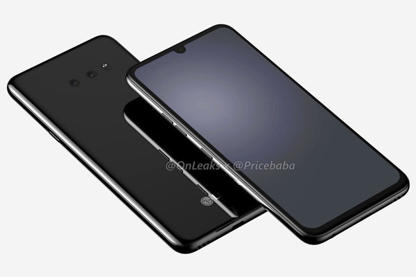 Опубликованы рендерные фото флагманского смартфона LG G8x