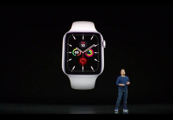 Смарт-часы Apple Watch Series 5 представлены официально
