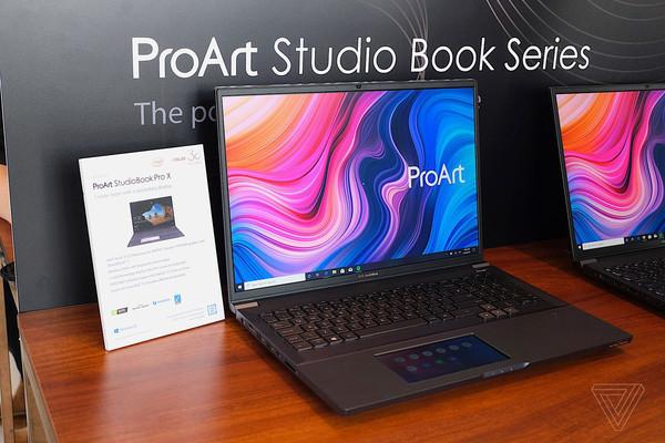 ASUS представляет новые ноутбуки серии ProArt StudioBook