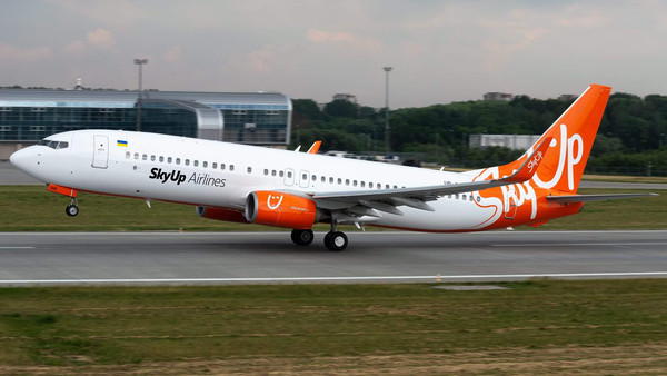 SkyUp в 2019 году получит два самолета повышенной вместимости типа Boeing 737
