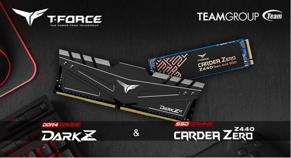 TEAMGROUP T-FORCE выпустила игровую память и SSD-накопитель PCI-E Gen4 x4 M.2