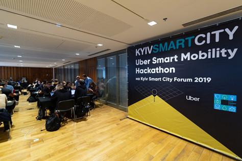 В Киеве состоялся Uber Smart Mobility Hackathon