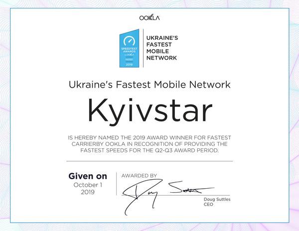 Данные Speedtest от Ookla: скорость мобильного интернета в Украине выросла