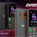 Новый мобильный телефон DIGMA LINX S240