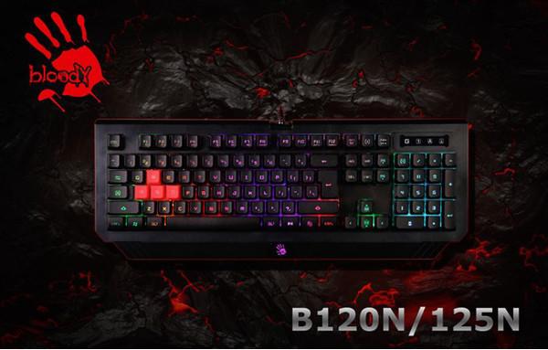 Игровые клавиатуры Bloody B120N и B125N