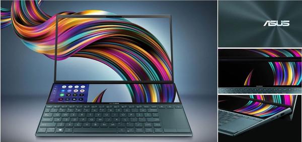 Ноутбуки ASUS Zenbook Duo UX481 с двумя дисплеями - уже на складе Юг-Контракт