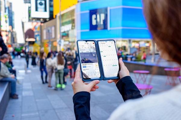 Смартфоны LG G8X THINQ и LG DUAL SCREEN выходят на мировой рынок