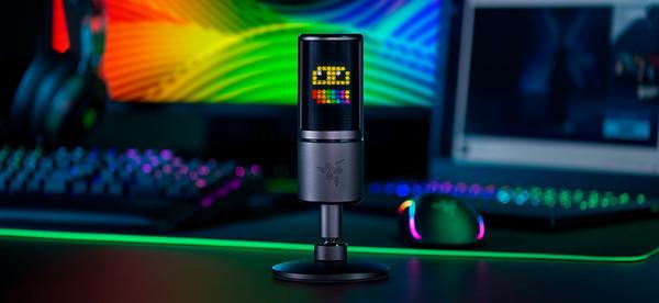 Razer выпускает первый в мире микрофон для стримеров с интерактивными эмотиконам
