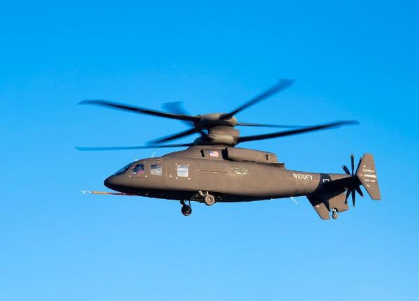 Первый полет скоростного вертолета SB>1 Defiant