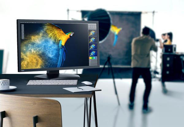 Новый 31-дюймовый 4K-монитор от NEC обеспечивает точную цветопередачу