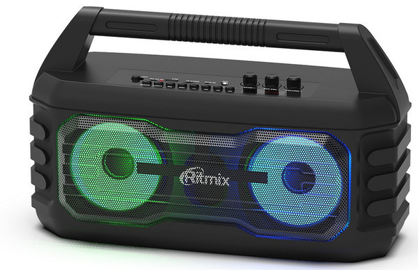 SP-650B и SP-610B - новые портативные аудиосистемы Ritmix