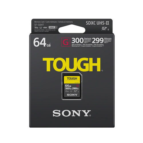 В Украине стартуют продажи самых защищённых скоростных SD-карт от Sony