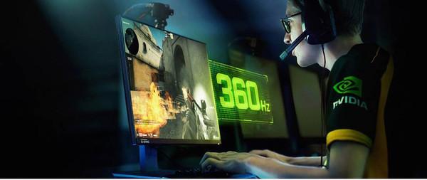 NVIDIA представляет новые мониторы для киберспорта