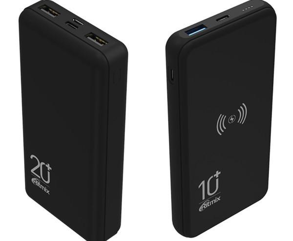 RPB-10008 и RPB-20000 - новые модели Powerbank Ritmix