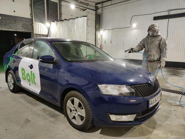 Bolt начинает дезинфекцию авто и обеспечит водителей средствами защиты от вируса