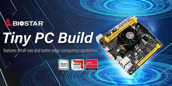 BIOSTAR представила материнку A10N-9630E MINI ITX Quad Core SoC