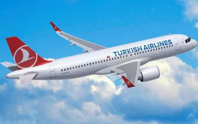 Прямые сезонные рейсы между Киевом и Даламаном  от Turkish Airlines