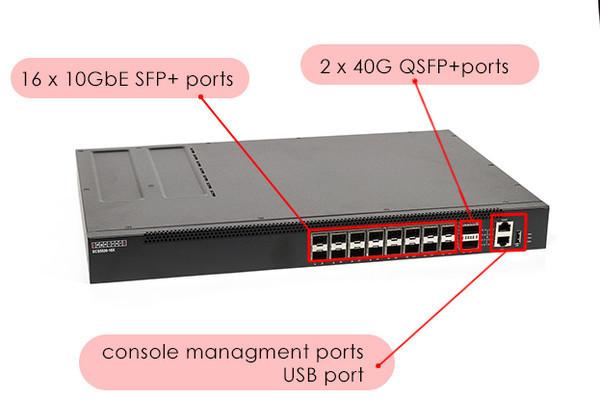 Коммутатор Edge-Core ECS5520-18X уровня агрегации