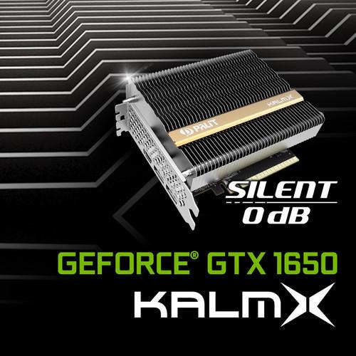 Palit сообщила о доступности видеокарты Palit GeForce GTX 1650 KalmX