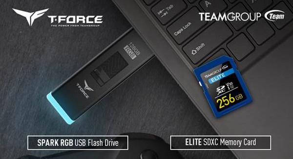 TEAMGROUP запустила продажи флэш-накопителей T-FORCE SPARK RGB USB