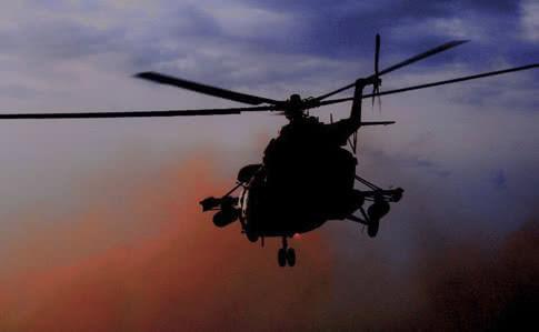 Из-за проблем с двигателем Ми-8 совершил вынужденную посадку
