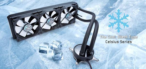 Представлена новая линейка системы охлаждения Celsius